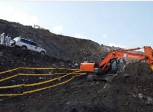[AZKEN ORDUKOA] Automobil baten aztarnak aurkitu dituzte Zaldibarko zabortegian