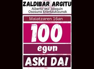 Zapatuan 100 egun beteko dira Zaldibarko zabortegia amildu zenetik