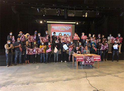 Euskal Herri mailako manifestazioa deitu du Zaldibar Argituk uztailaren 4rako Eibarren