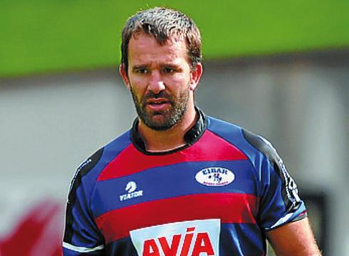 Goyo Zabaloy Avia Eibar Rugby taldera itzuli da denboraldi berrirako