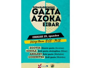 V. Gazta Azoka egingo da domekan Untzaga plazan, eskualdeko gaztagileen parte-hartzearekin