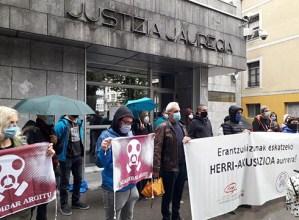 Zaldibar Argitu eta Euskal Herriko Eskubide Sozialen Karta herri akusazio bezala aurkeztuko dira