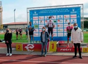 Pello Osorok distantzia erdiko Espainiako Duatloi Txapelketa irabazi du