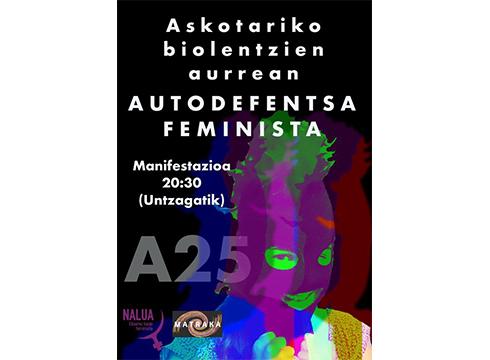 Manifestazioa egingo dute bihar emakumeen aurkako indarkeria salatzeko