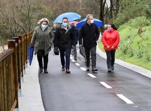 Inauguratu dute Eibar eta Elgoibar elkarrekin konektatzeko egin den bidegorria