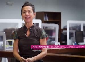 Neurrien eraginkortasuna neurtzeko egindako ikerketaren emaitzak azaltzen dizkigu Ana Galarragak