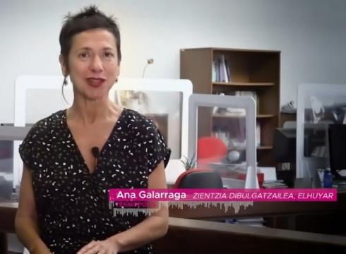 Berrinfekzioei buruzko galderak erantzuten ditu Ana Galarragak aste honetako bideoan