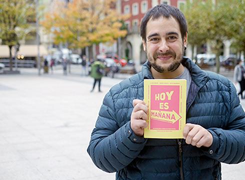 """""""Hoy es mañana"""" liburua aurkeztuko dute Portalean abenduaren 15ean"""