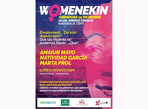 Hiru emakume ekintzailerekin #WOMENEKIN2020 solasaldia antolatu du Ekingunek