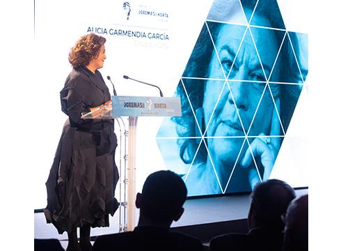 Alicia Garmendia Grupo Iruñako presidentea hil da