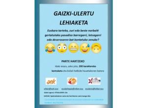 """""""Gaizki-ulertu lehiaketa"""" antolatu du Udalak Udal Euskaltegiarekin eta AEKrekin lankidetzan"""