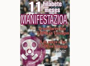Zaldibar Argituk manifestazioa deitu du eguaztenerako, hondamenditik 11 hilabetera