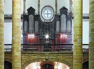 155.000 euroko kostua izango du Eibarko San Andres elizako organoaren konponketak