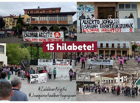 Mobilizazioak egin ziren atzo Zaldibarko zabortegia amildu zenetik 15 hilabete betetzean