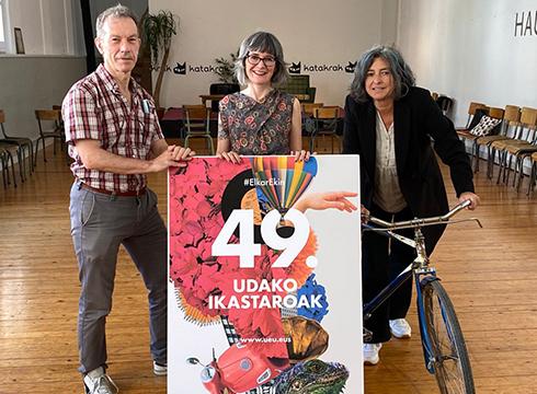 Udako Ikastaroen 49. edizioa aurkeztu du Udako Euskal Unibertsitateak