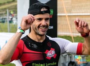 Jaz Eibar Triatloiko Javi Muñozek lan bikaina egin zuen As Ponteseko Ironmanean