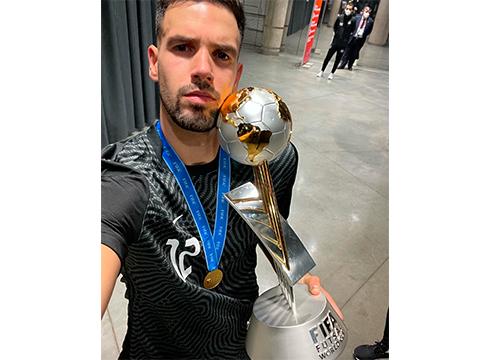 Edu Sousa eibartarrak areto futboleko Munduko Txapelketa irabazi du Portugalekin