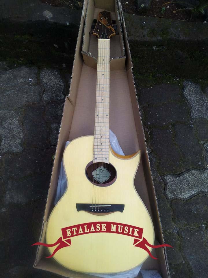 Gitar Akustik Elektrik | All Solid Wood | Samick – JTR | TVAB-40ce