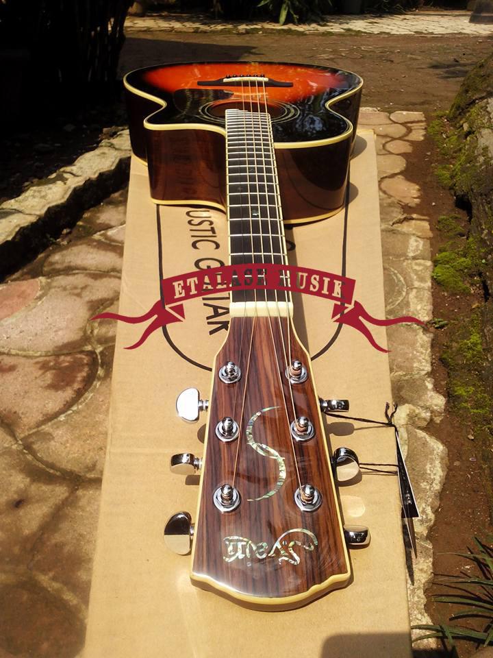 Gitar Akustik Elektrik | S.Yairi – YE-58/3TS | Top Solid Spruce
