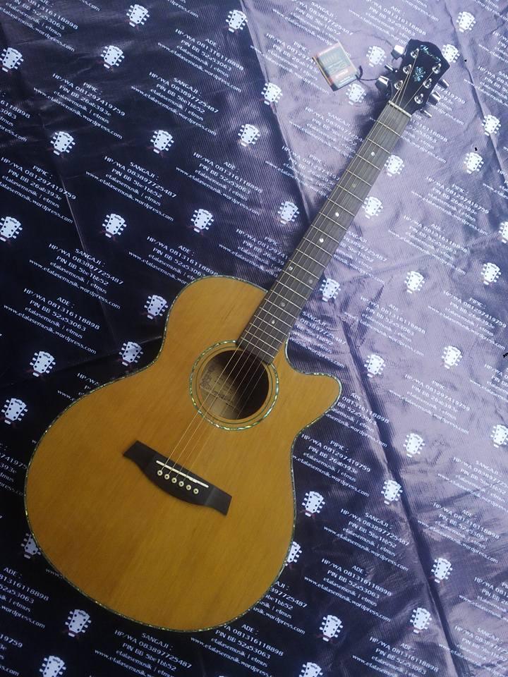 Gitar Akustik Elektrik All Solid Wood : Ibanez AEG 60 SE/NT