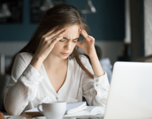 Experiencing issues of anxiety and stress