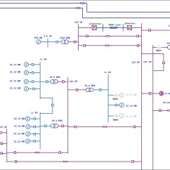 Wiring Diagram Junction Box 1995 Jeep Grand Cherokee Laredo Speaker Electrical Single Line One Etap