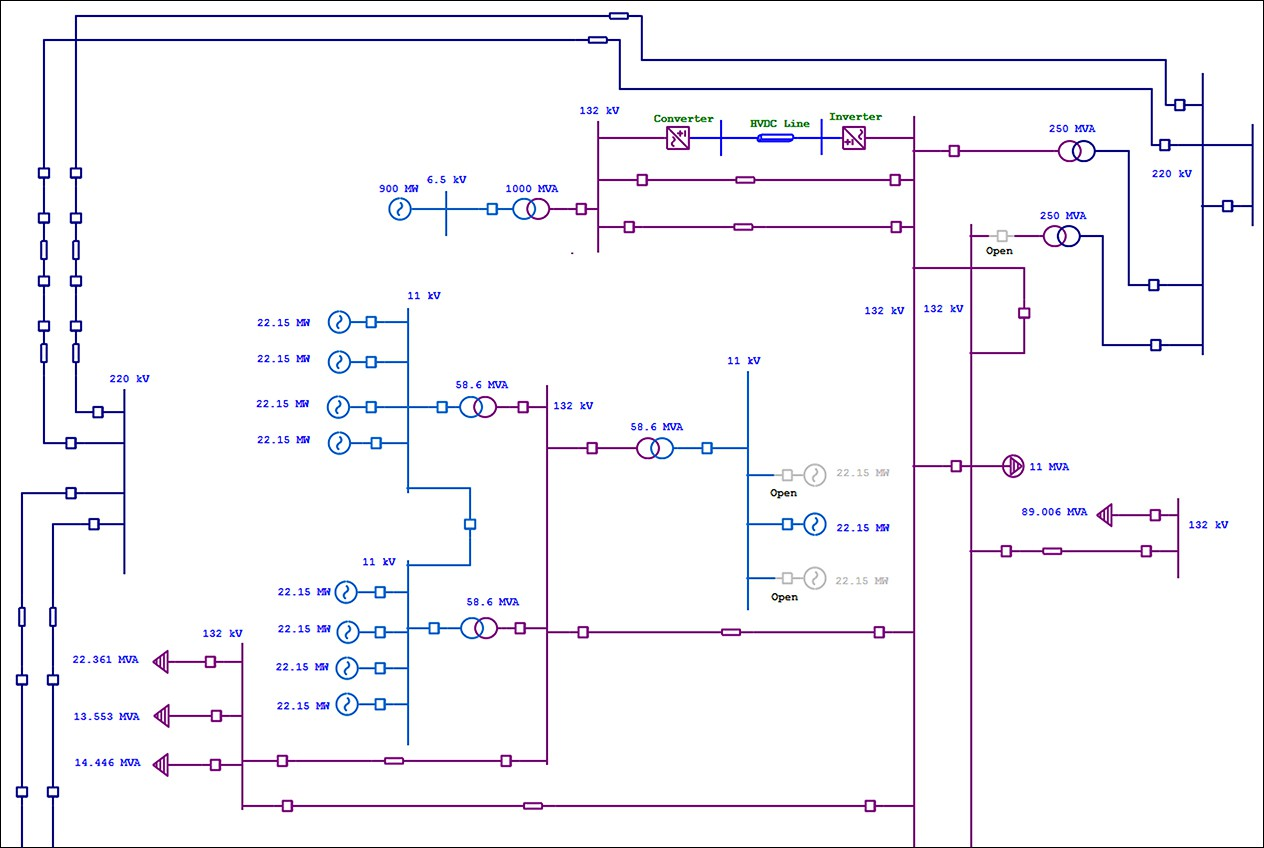 electrical single line diagram electrical one line diagram etap wiring diagram schematic 125v  [ 1264 x 848 Pixel ]