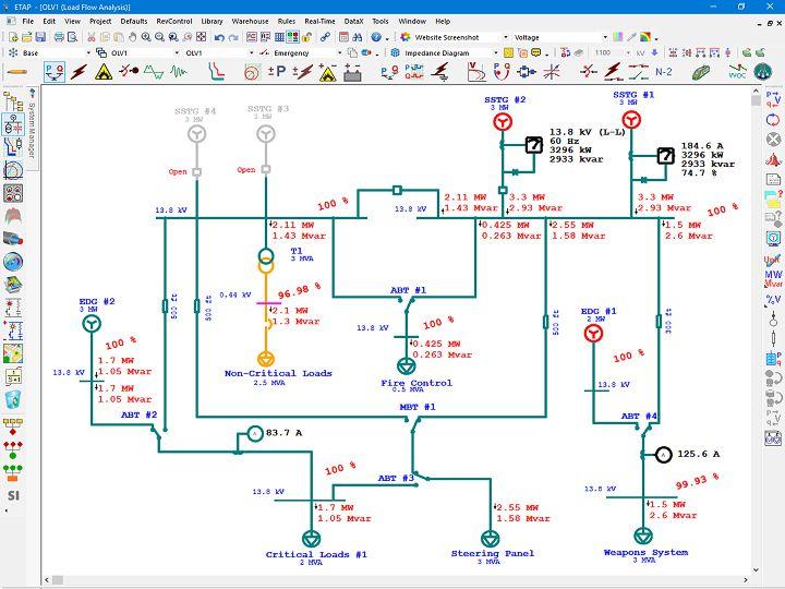 Marine Electrical Diagram | Electrical SingleLine Diagram