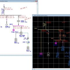 Electrical One Line Diagram Software Land Cruiser Spotlight Wiring Modeling | Engineering Power Systems