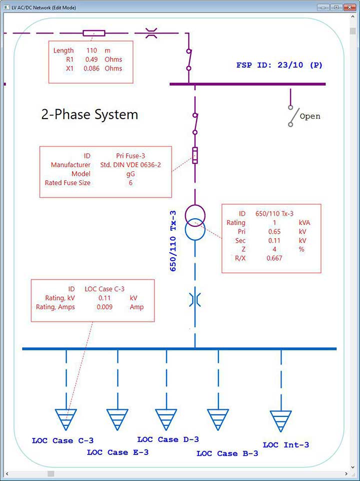 Electrical SingleLine Diagram | Intelligent One Line