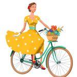 Vélo vintage en Anjou