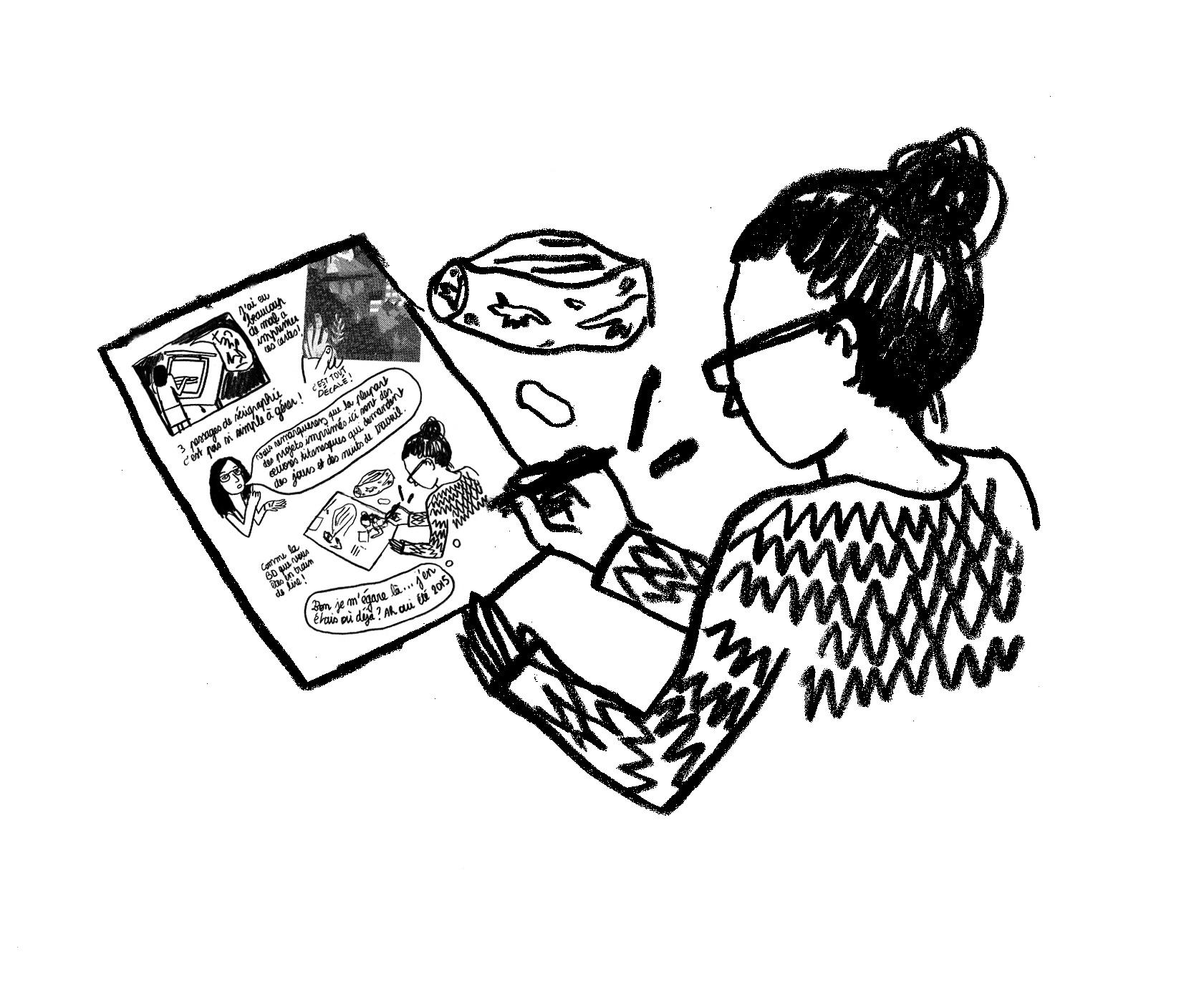 Les Diplômés : Mathilde Poncet, illustratrice indépendante