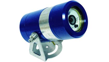 Draeger Flame 5000 visual flame detector and a closed circuit television camera