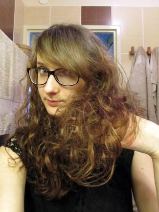 Cheveux contents !