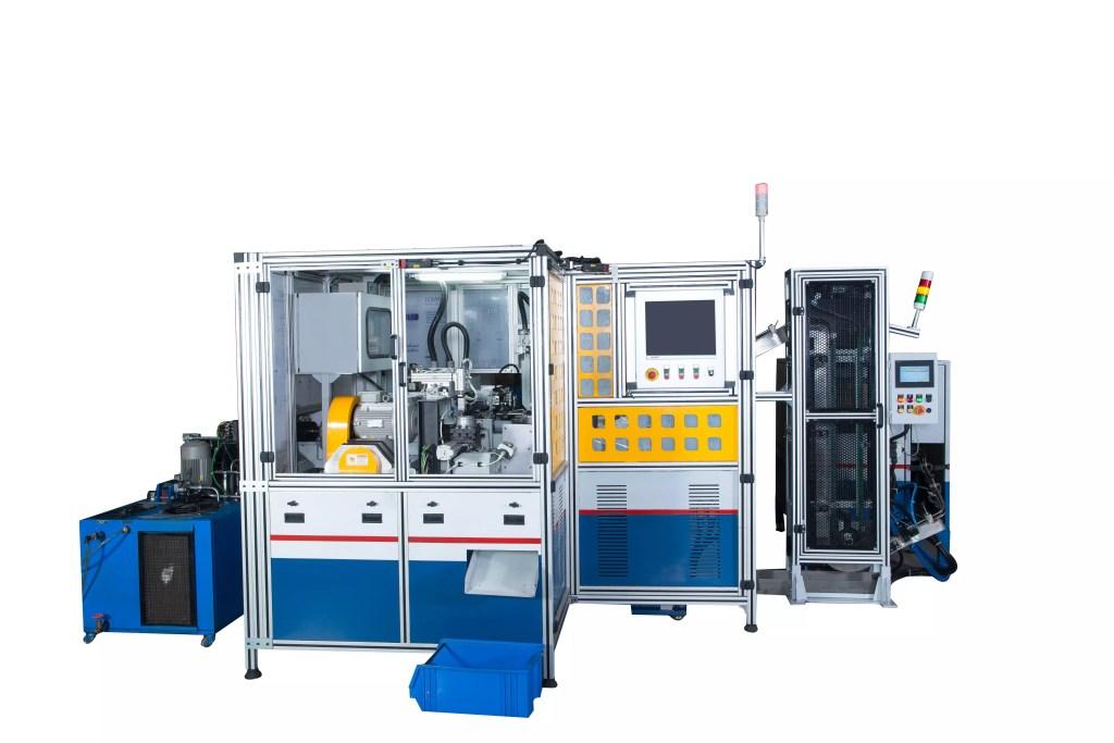 3T - Maschine Mit eingebautem Deflash, Deflect und automatischem Laden / Entladen