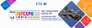 ETA Technology auf der DEFEXPO 2020 in Lucknow, Indien