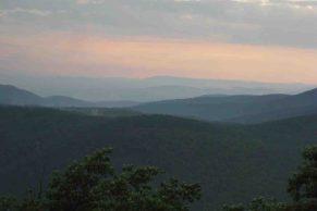 sunset point ouchita mountains oklahoma