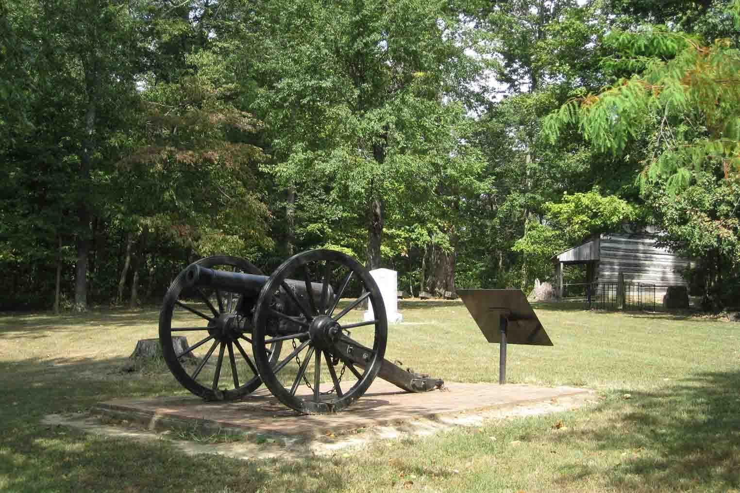 civil war battlefield in corydon indiana