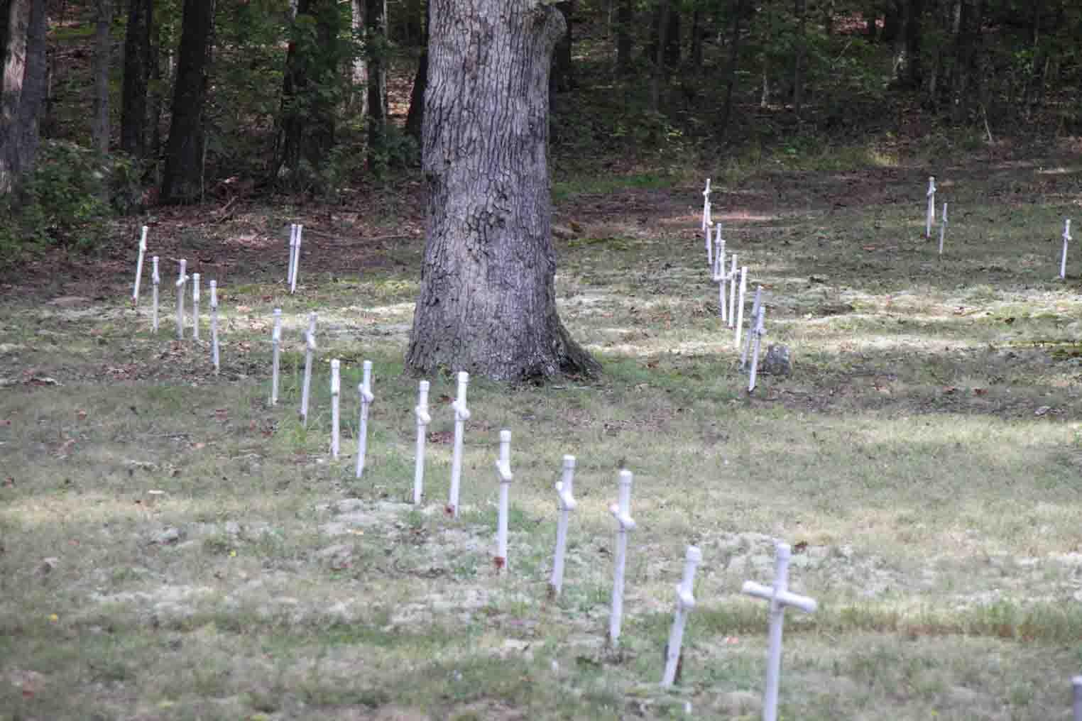 cemetery at Maramec Spring Park
