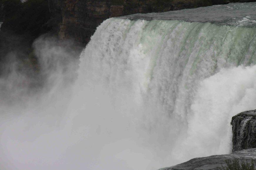 bridal falls at Niagara Falls
