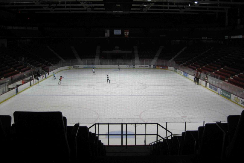 """Miracle on Ice"" hockey rink"