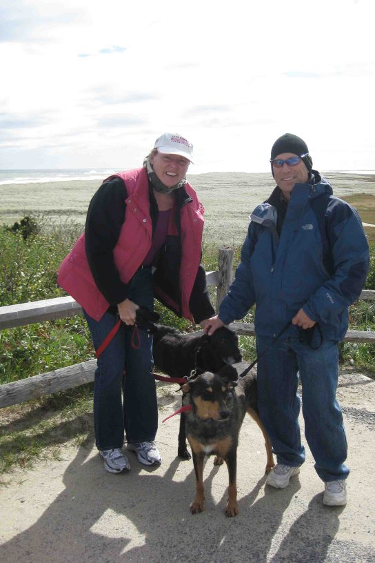 Lisa and Eric on Cape Cod National Seashore
