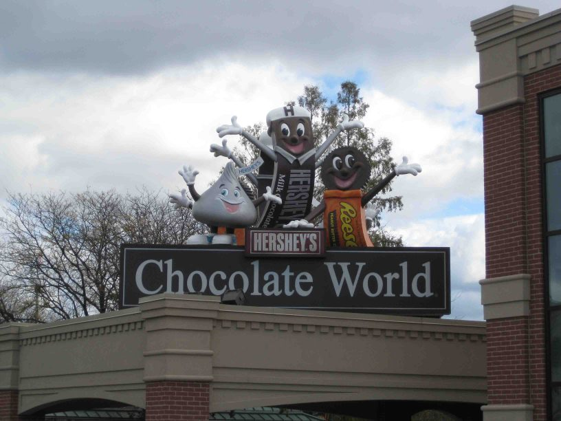 Chocolate World in Hershey Pennsylvania