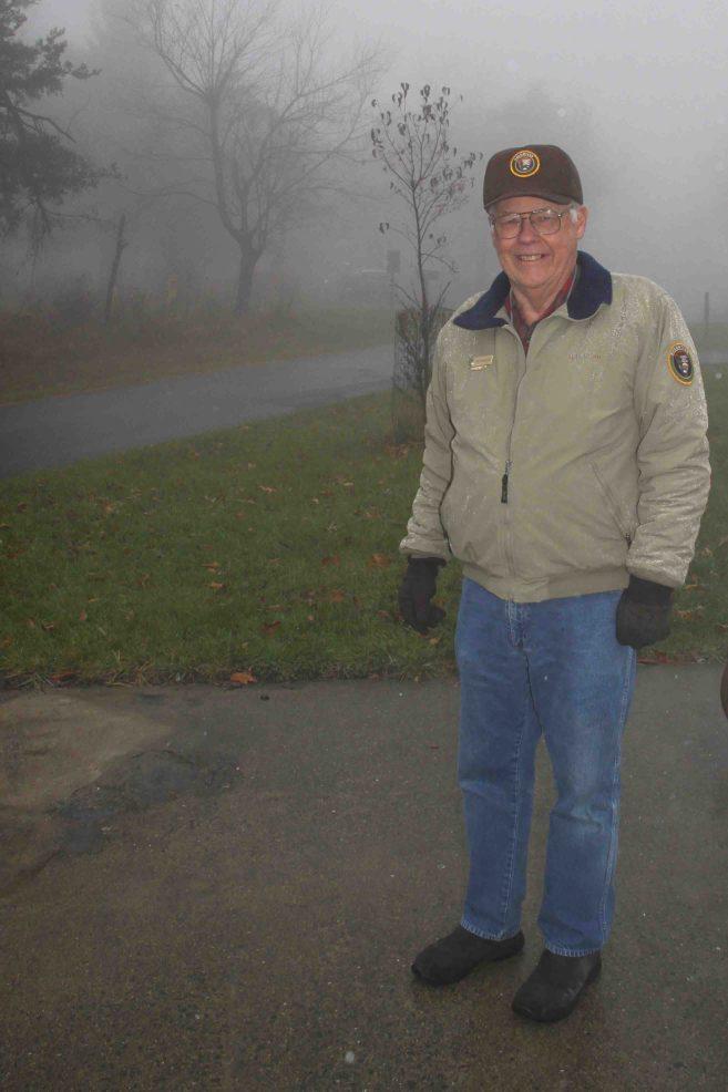 Bob at Big Meadows Campground in Shenandoah National Park