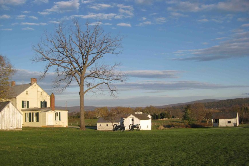 antietam national battlefield in the Maryland panhandle