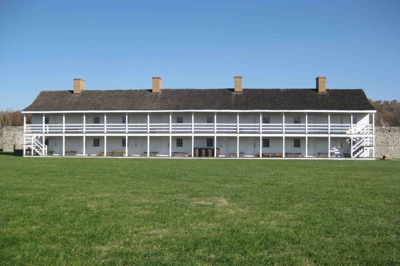 fort frederick state park in maryland