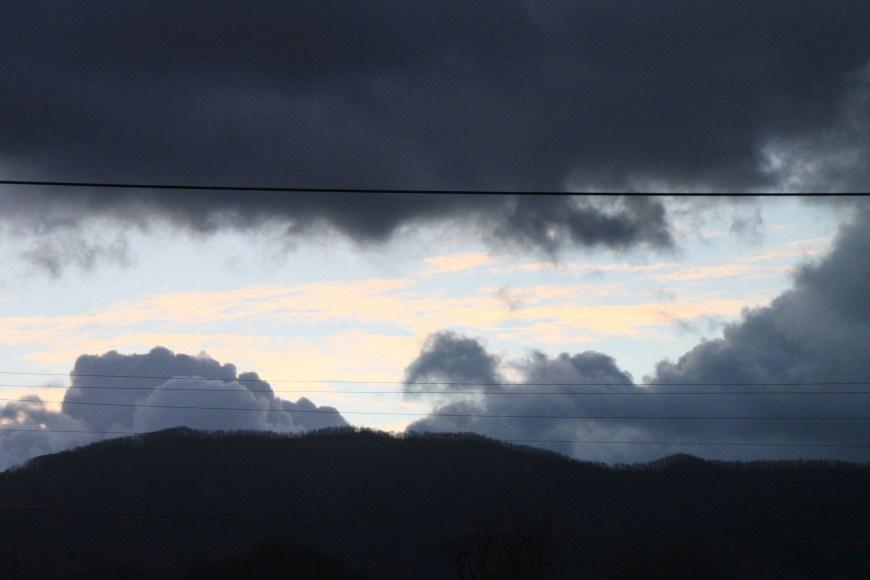 view from walmart in north carolina