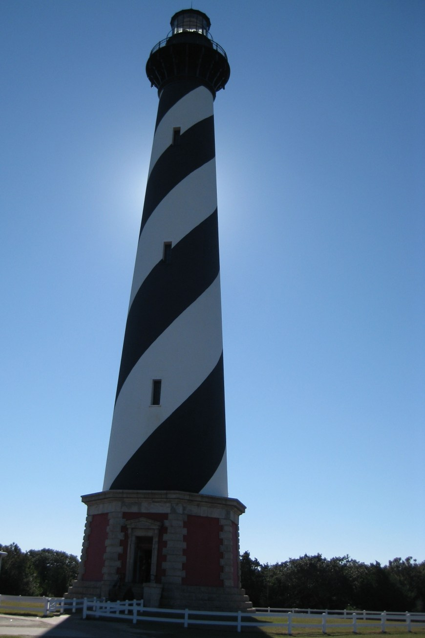 cape hatteras lighthouse on the outer banks