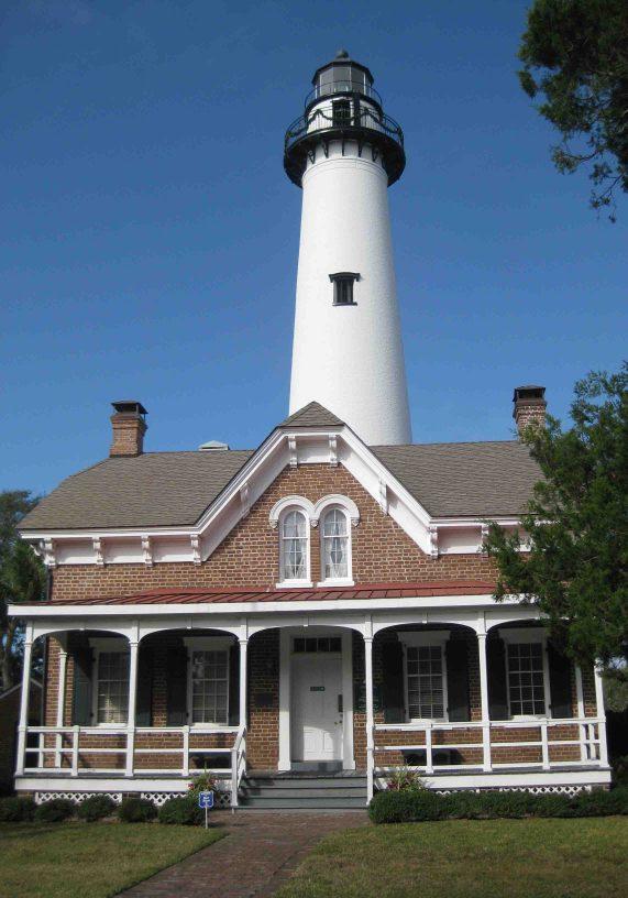 St. Simons Lighthouse in Georgia's East Coast