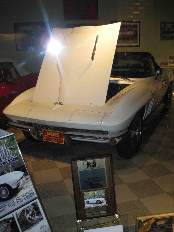National Corvette Museum in the Pennyroyal Region of Kentucky